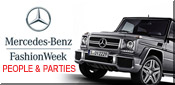 mercedes benz fashion week parties
