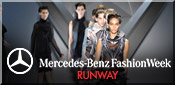 mercedes benz fashion week runway